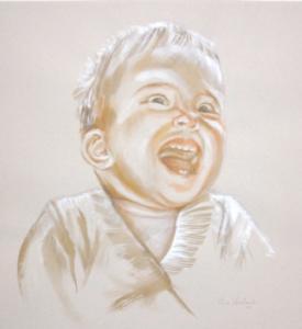 Bébé joyeux