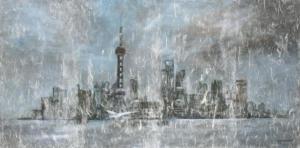 Shanghaï dans la brume